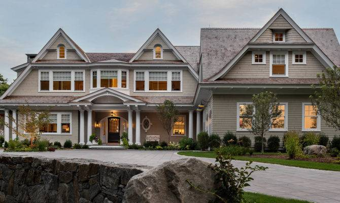 Residential Shingle Style Architecture New England