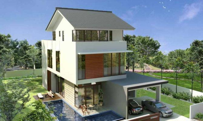 Resorts Luxurious Bungalow Designs Small