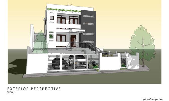 Rest House Design Floor Plan Amazing Decors