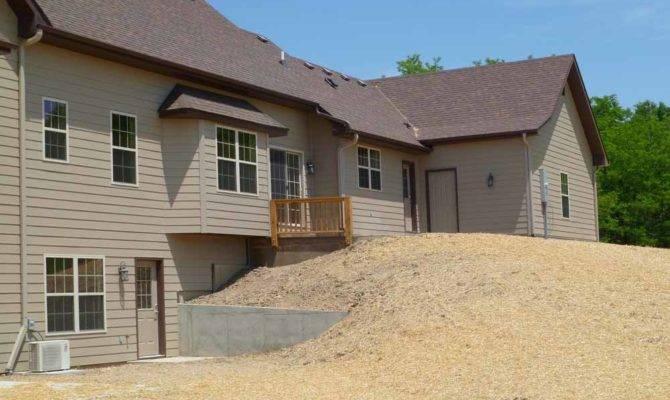 Retaining Walls Walk Out Basement Details Custom Homes