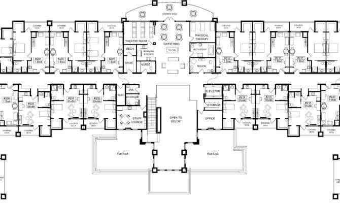 Retirement Home House Plans Homes Floor