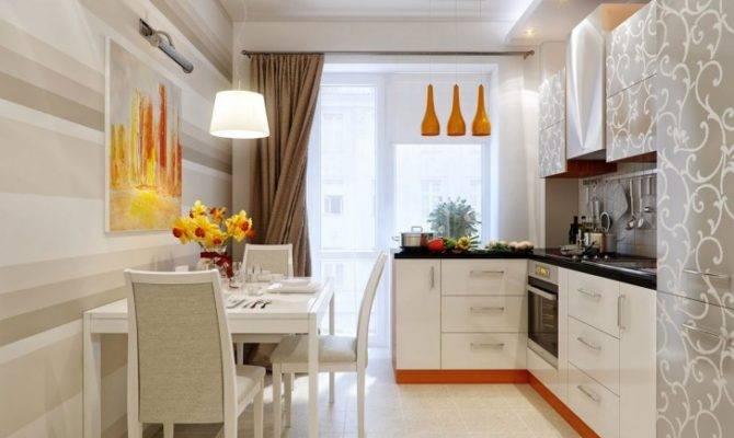 Retro Kitchen Interior Dining Room Design Ideas
