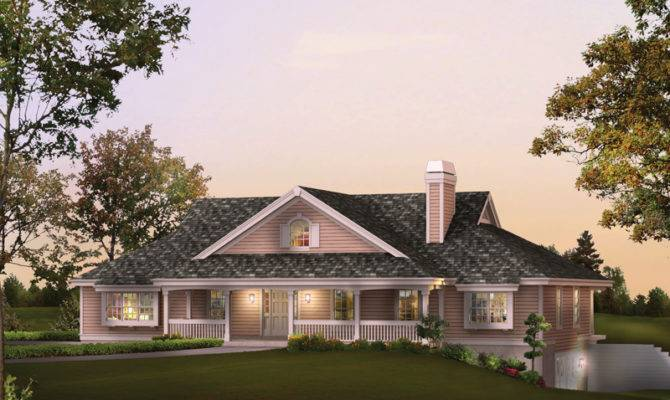 Rochelle Bay Country Home Plan House Plans