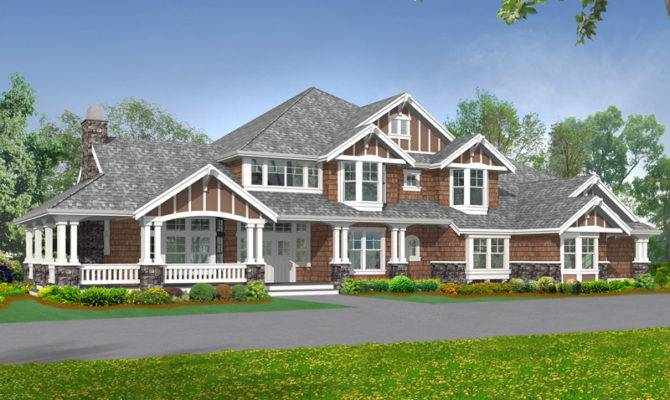Rocktrail Luxury Rustic Home Plan House Plans More