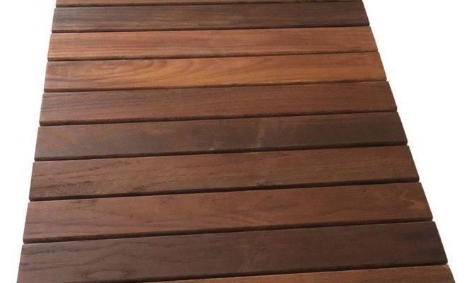 Rollfloor Camping Wood Deck Tile Pads