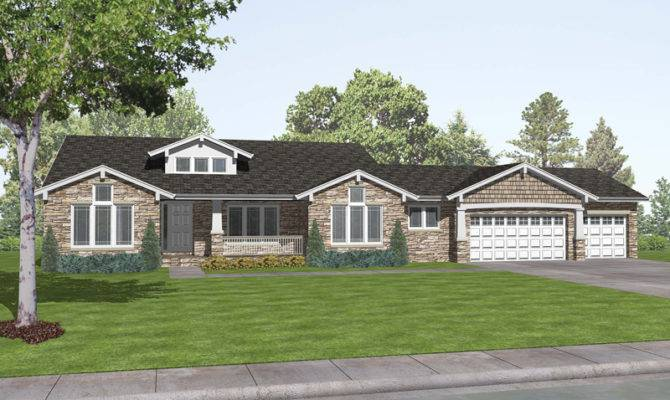 Romaine Place Ranch Home Plan House Plans More