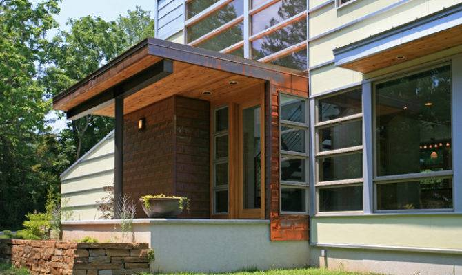 Romwoods Porch Contemporary Demx Architecture