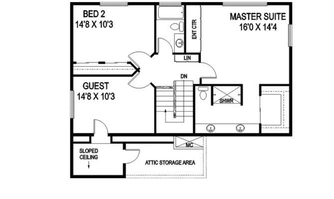 Ronocco Saltbox Style Home Plan House Plans
