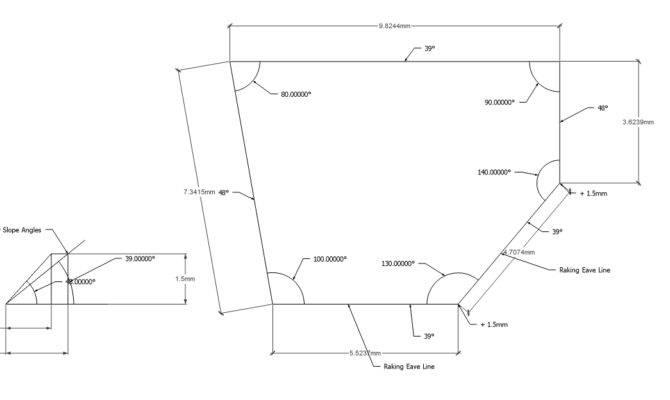 Roof Framing Geometry Dachausmittlung Complex