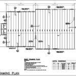 Roof Framing Plan Drawings