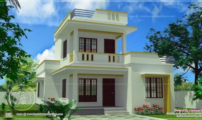 Roof Home Design Feet Kerala Plans Simple Modern House