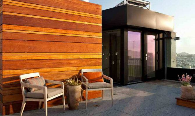 Rooftop Apartment Design Ideas Plan
