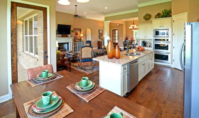 Room Interior Open Kitchen Layouts Living