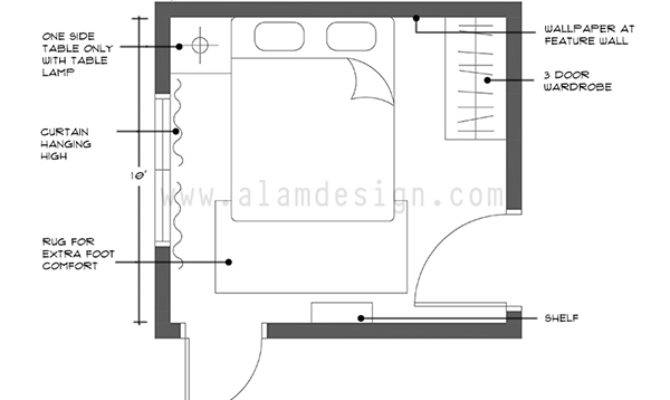 Room Layout Small Bedroom Design Ideas