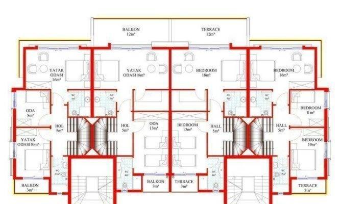 Room Location Block Numbers Plan Ground Floor First