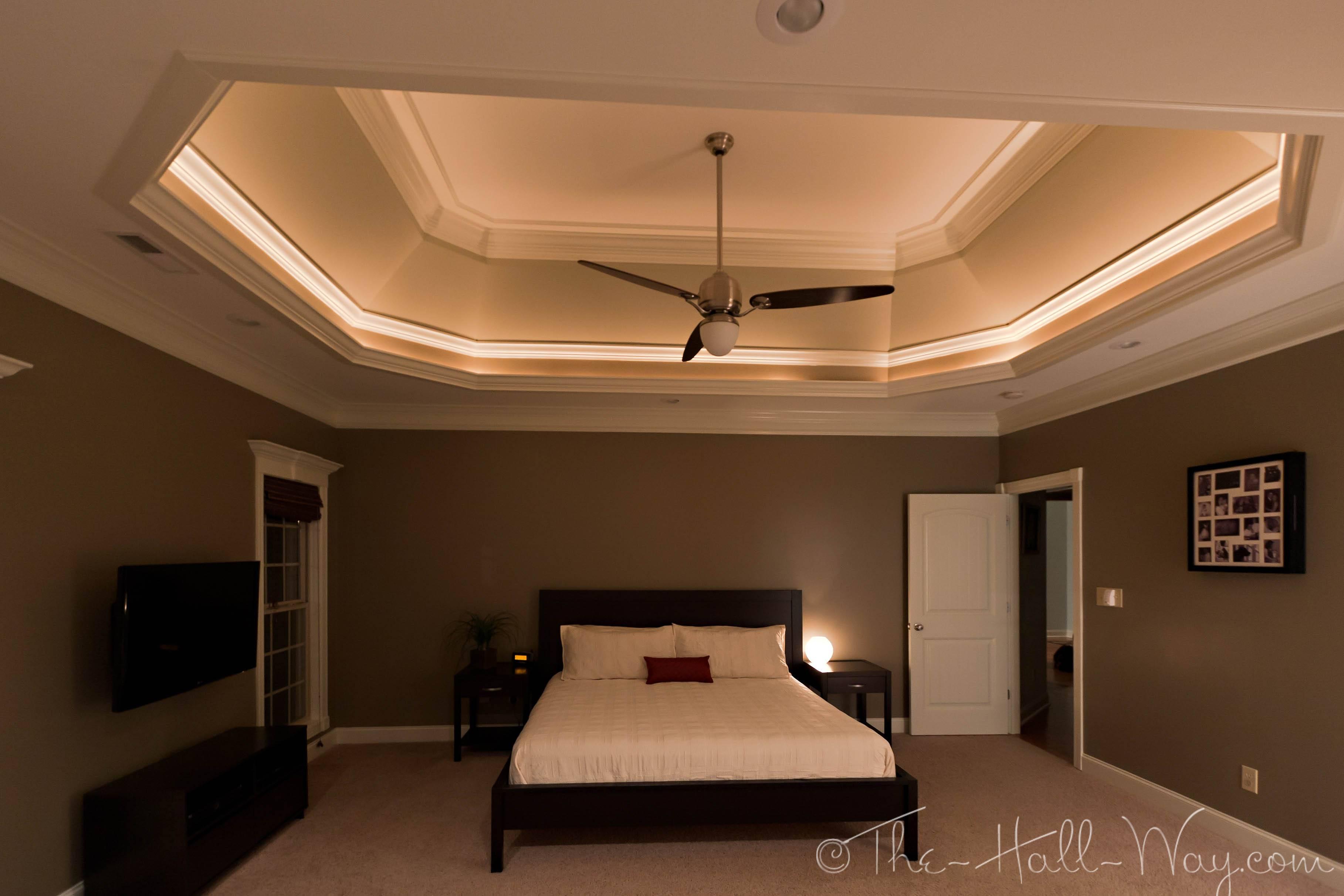 Room Master Bedroom Had Rope Lights