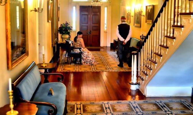 Room Oak Alley Plantation Iconic