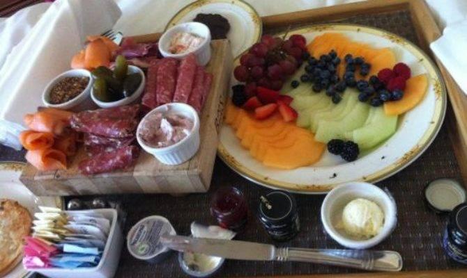 Room Service Got European Breakfast Consist