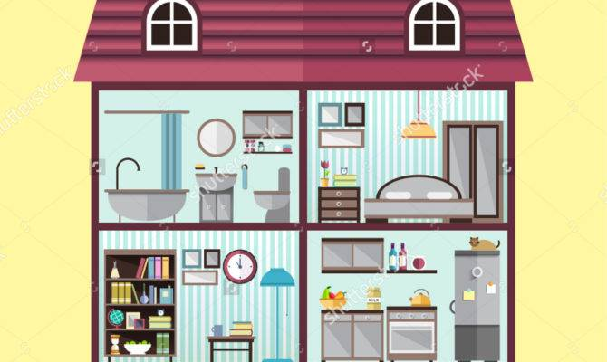 Rooms House Clipart