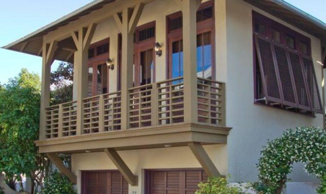 Rosemary Beach Style House Plans