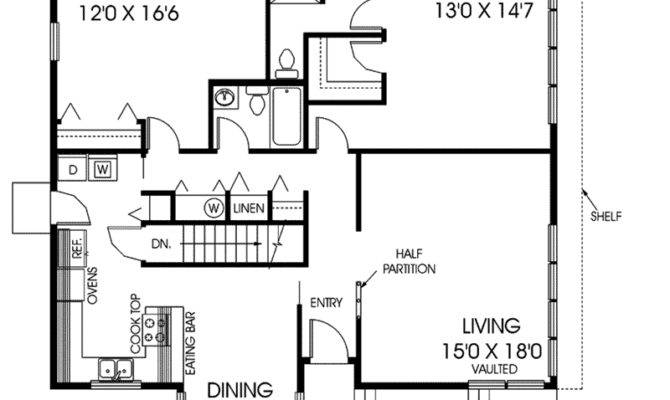 Rossridge Berm Style Home Plan House Plans