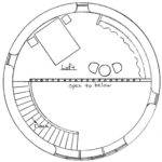 Round House Straw Bale Plans