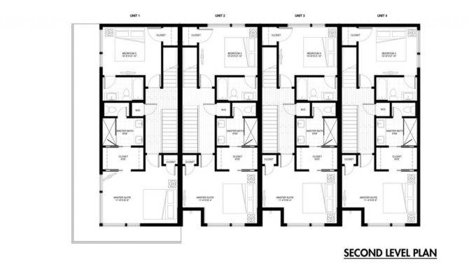 Row Home Floor Plan Beautiful House Plans Detached