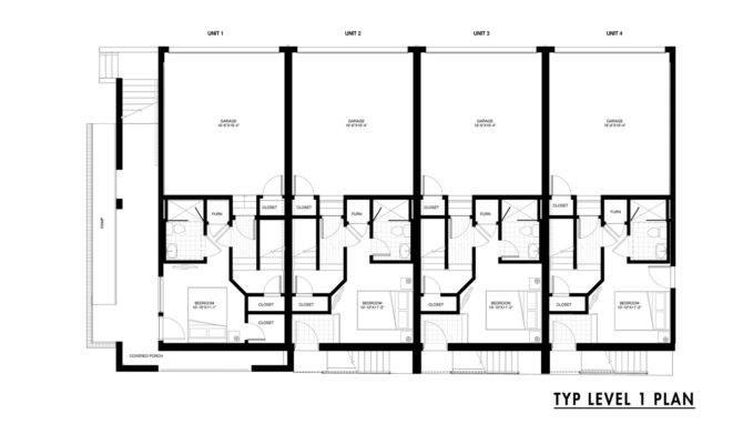 Row House Floor Plan Escortsea