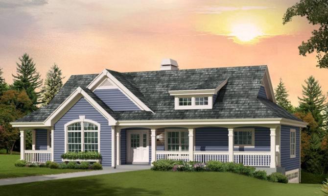 Royalview Atrium Ranch Home Plan House Plans