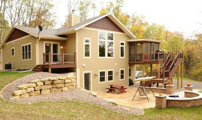 Rural Ranch Style Home Walk Out Basement