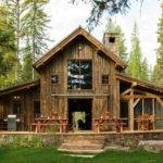 Rustic Barn Home Plans Metal House Open Floor Ideas Small