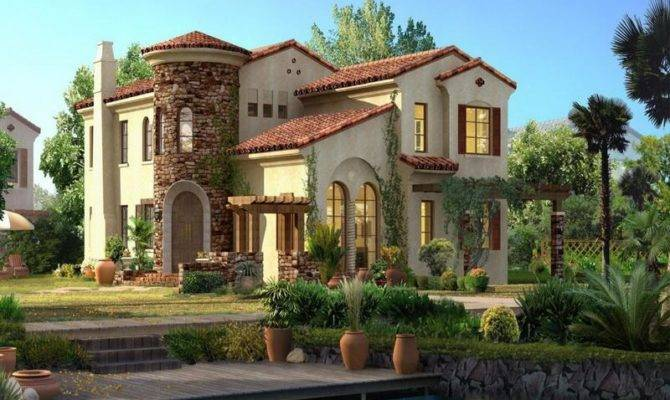 Rustic Big House Exterior Design Idea Viahouse
