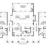 Rustic Cabin Style House Plan
