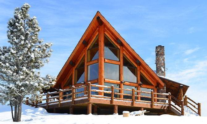 Rustic Chalet Log Home Plan Expedition Homes