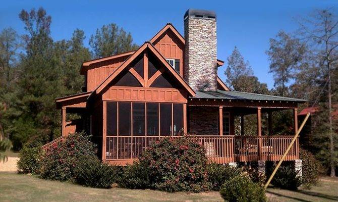 Rustic Cottage House Plan Small Cabin