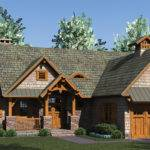 Rustic Craftsman House Plan Design Plans