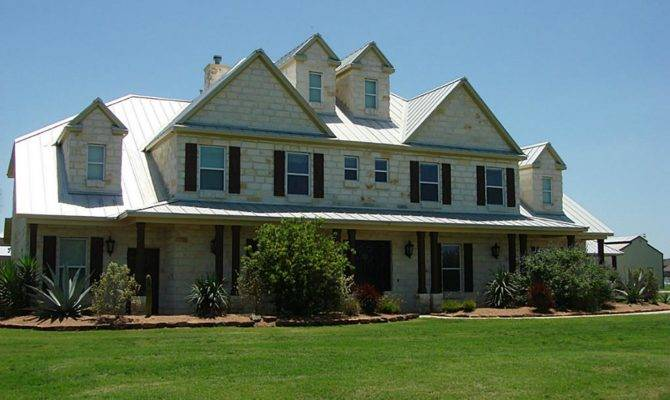 Rustic Hill Country Home Plans