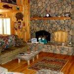 Rustic Lake House Decorating Ideas Wooden Wall