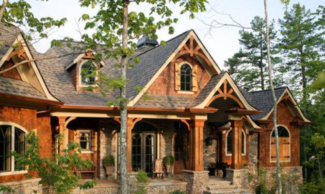 Rustic Luxury Mountain House Plan Lodgemont Cottage