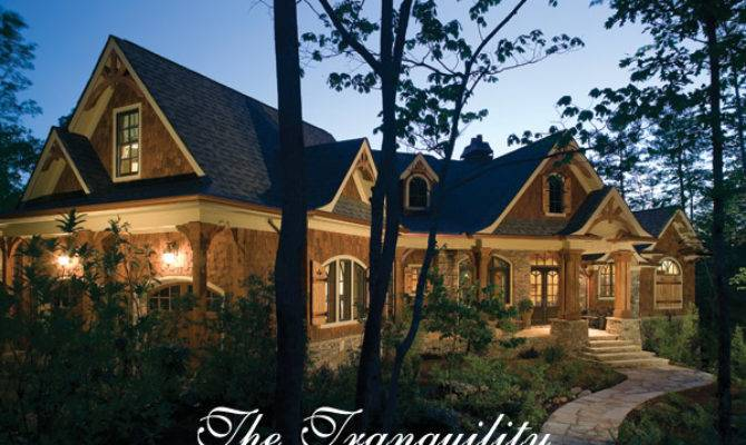 Rustic Luxury Mountain House Plan Tranquility