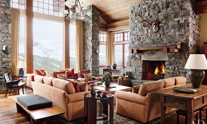 Rustic Yet Modern Montana Ski House Michael Smith