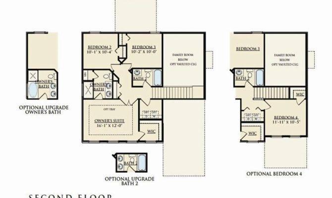 Rutledge Home Plan Dan Ryan Builders Summerlyn