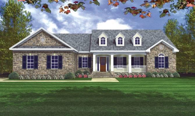 Rycroft Ranch Home Plan House Plans More