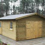 Rydell Log Cabin Garage