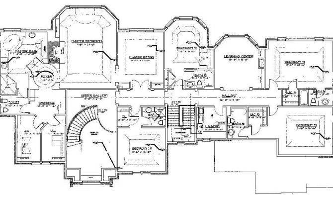 Saddle River New Home Floor Plans Architect Robert Zampolin