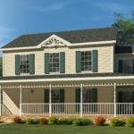 Sagamore Two Story Style Modular Homes