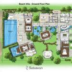 Saisawan Beach Villas Ground Floor Plan Villa Capdagde Palmbeach