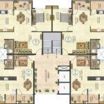 Salasar Greens Multistoried Flats Layout Plan