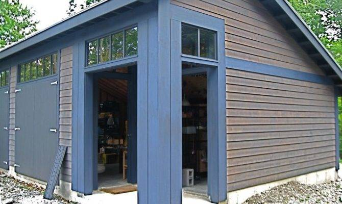 Salt Box Shed Design Garage Stephenclarkdesigngroup