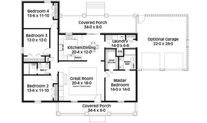 Saltbox House Plan First Floor Plans More
